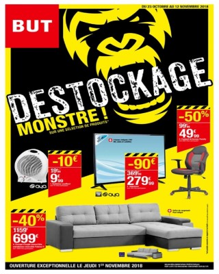 Destockage Monstre!