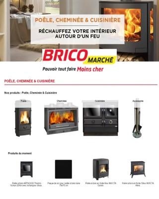 Catalogue Poele, Cheminee & Cuisiniere