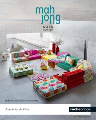 Mah Jong Sofa an icon - Roche Bobois