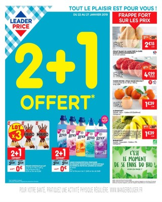 2+1 offert Leader Price