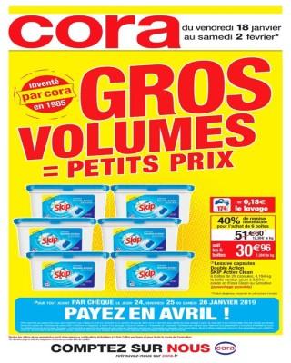 Gros volumes = petits prix