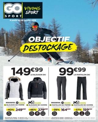 Objectif Destockage - Go Sport
