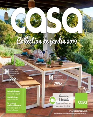 Collection de jardin 2019 - Casa