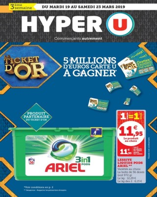 Hyper U Le ticket d or 3eme semaine