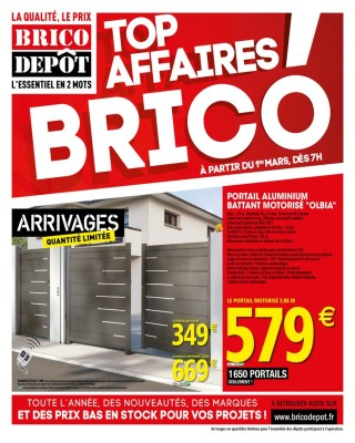 Top Affaires Brico Catalogue Brico Depot