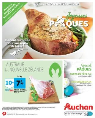 Auchan joyeuses paques
