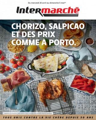 Chorizo salpicao et des prix comme a porto
