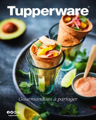 Gourmandises a partager - Tupperware