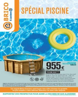 Special piscine - E.Leclerc Brico