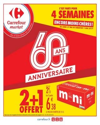 2+1 offert 60 ans anniversaire