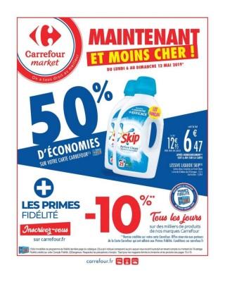 Carrefour Market Maintenant et moins cher