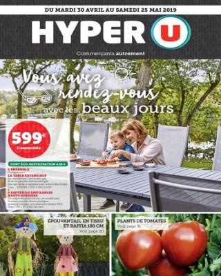 Hyper U Vous avez rendez vous avec les beaux jours