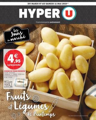 Hyper U les jours du marche fruits et legumes du printemps