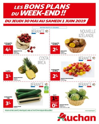 Les bons plans du week end