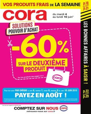 -60% sur le deuxieme produit