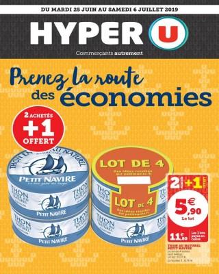 Hyper U Embarquez pour des prix promos