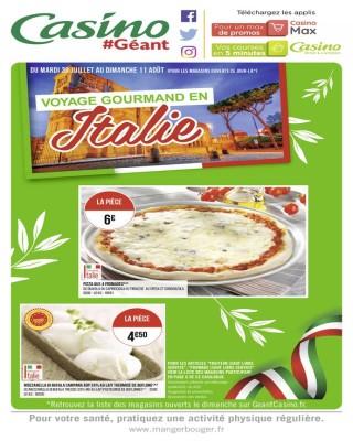 Voyage gourmand en italie