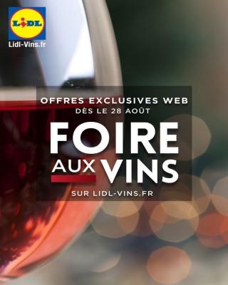 Foire aux vins exclusives