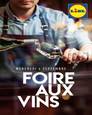 Foire aux vins septembre