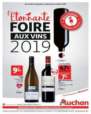 L etonnante foire aux vins 2019