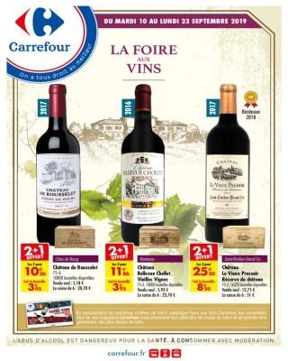 La foire aux vins septembre