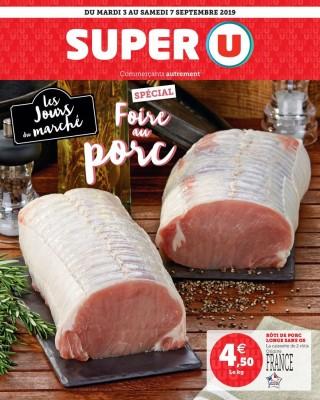 Les jours du marché foire au porc