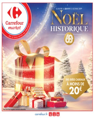 Catalogue Carrefour des idees cadeaux a moins de 20€
