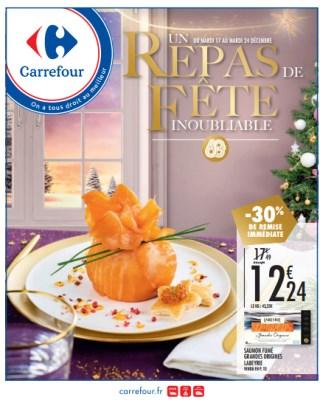 Catalogue Carrefour un repas de fête inoubliable