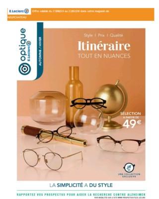 Catalogue E.Leclerc itineraire tout en nuances