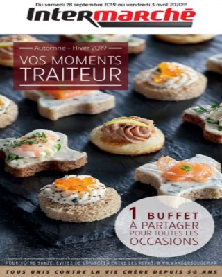 Catalogue Intermarche vos moments traiteur