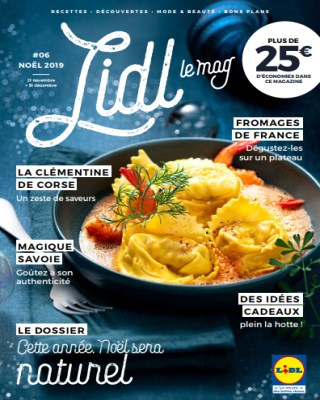 Catalogue Lidl cette arree noel sera naturel