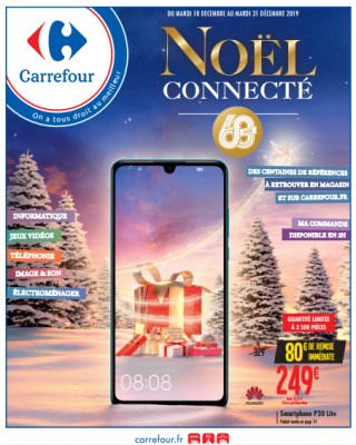 catalogue Carrefour noël connecté