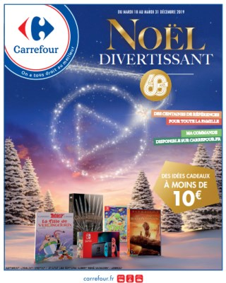 catalogue Carrefour noël divertissant