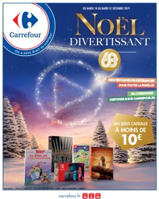 catalogue Carrefour noël divertissant - Catalogues avec offres et promotions