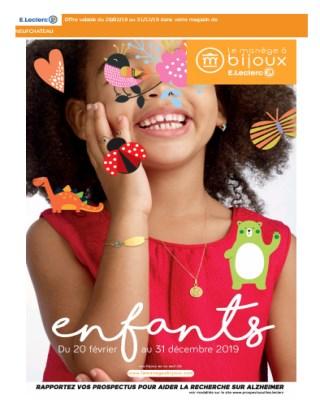 catalogue E.leclerc enfants